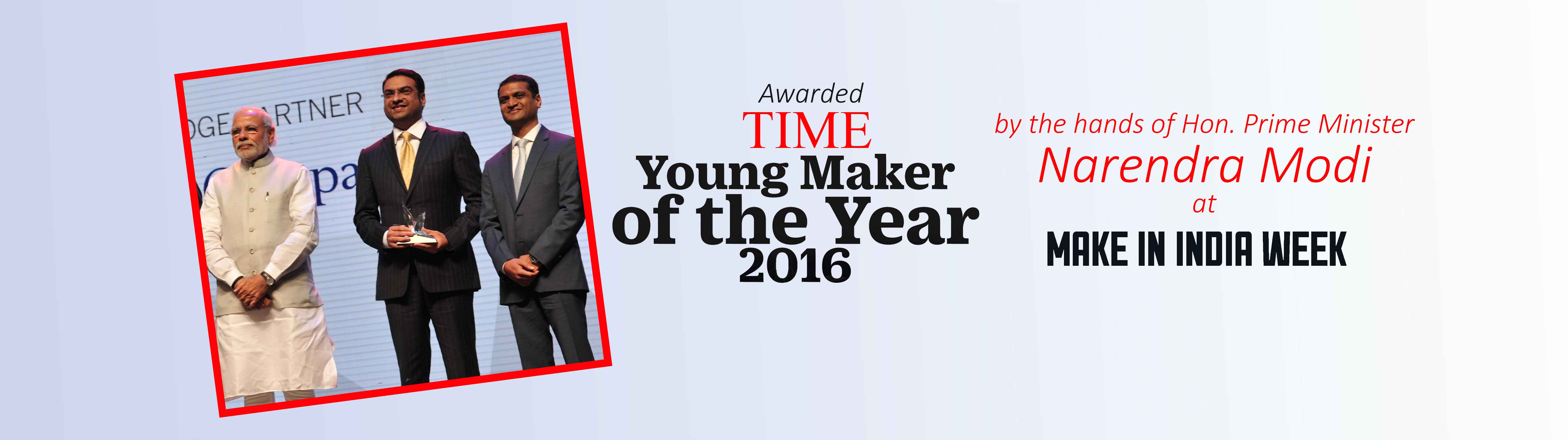 TIME Young Maker of the Year